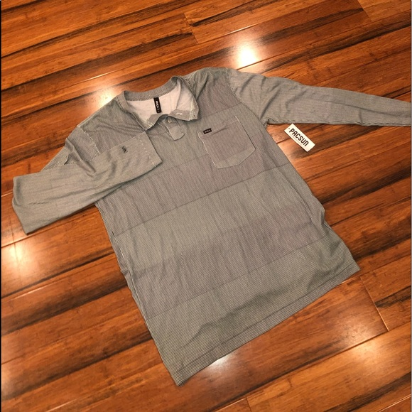 RVCA Other - NWT RVCA LONG sleeve slim fit shirt